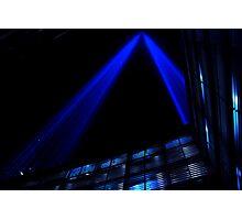 Blue 9-11 Photographic Print