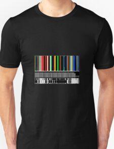 BARCODE COLOUR Unisex T-Shirt