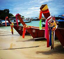 Thai Fishing Boats by emilyx93
