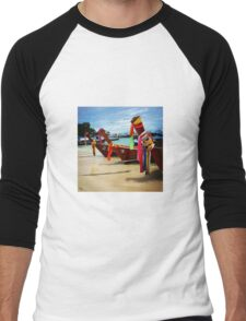 Thai Fishing Boats Men's Baseball ¾ T-Shirt
