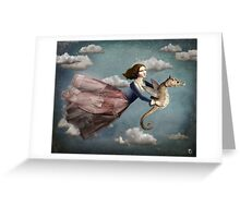 Voyage in the sky Greeting Card