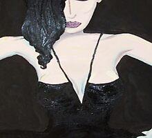 Dita in Black Lace by emma jane murphy