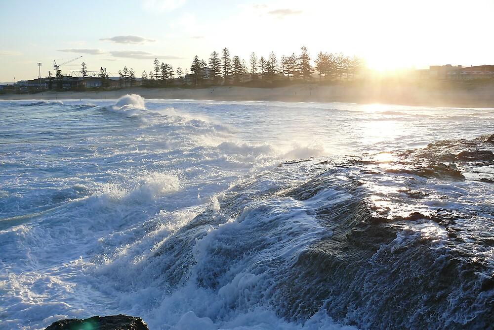 Kiama Sunset, NSW, Australia by Fabrice Rivart