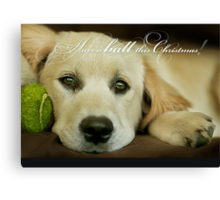Have a ball this Christmas....CHRISTMAS CARD!! Canvas Print