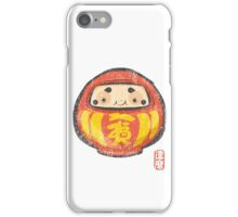 Daruma [Special Lucky Toy Box] iPhone Case/Skin