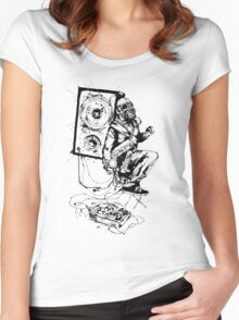 Spin Again Women's Fitted Scoop T-Shirt