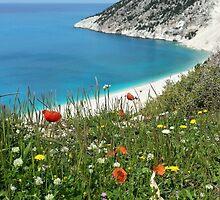 Myrtos Beach by emilyx93