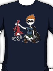 Boy with knife (colour) T-Shirt