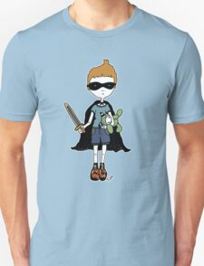 Boy with sword (for black) T-Shirt