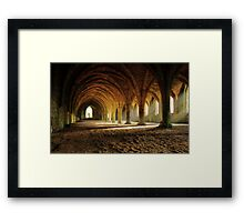Monk's Solace Framed Print