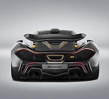 McLaren MSO P1  by djoc444