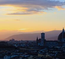 Florence at Sunset by emilyx93
