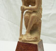 Sitting Statue by Shripad Chilakwad
