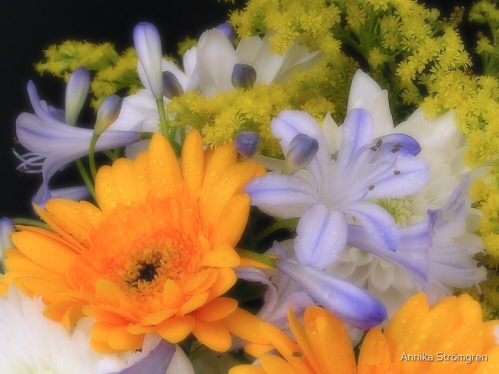 Dreamy flowers by Annika Strömgren
