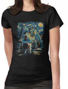 Van Goghstbusters Womens Fitted T-Shirt
