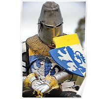 Knight in Chainmail  Poster