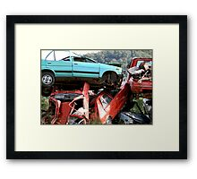 'Throw Away' Society Framed Print