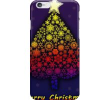 Colored Christmas tree iPhone Case/Skin