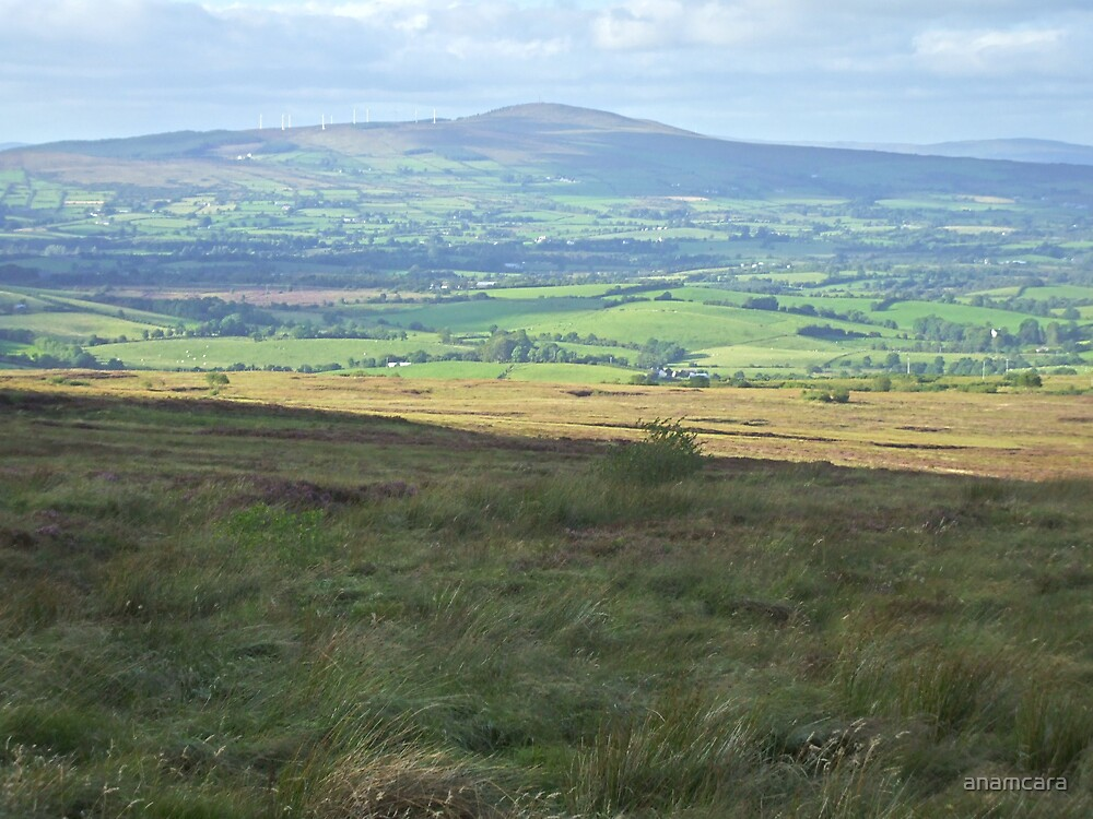 The Sperrim Mountains, Tyrone, Ireland by anamcara