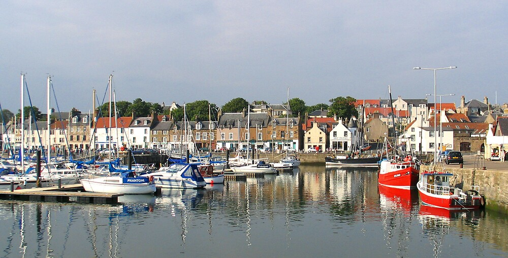 Anstruther Scotland by John  Simmons