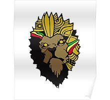 Lion of Rah - Golden crown version Poster