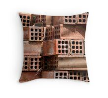 Building Blocks  Throw Pillow
