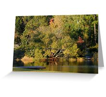Evening on the Pond Greeting Card