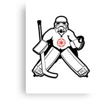 Imperial Goalie Canvas Print