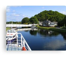 Loch Ness Canal Canvas Print