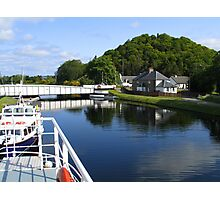 Loch Ness Canal Photographic Print