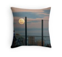 Moon Gazer Throw Pillow