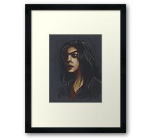 Gwen Cooper: Long Day at the Office Framed Print