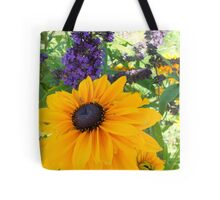The purple and the Yellow... Tote Bag