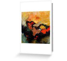 abstract80800607 Greeting Card