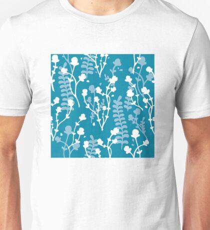Flower Pattern (Cold) Unisex T-Shirt