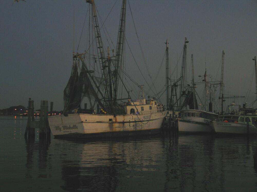 Mayport Fishing Boat by John  Simmons