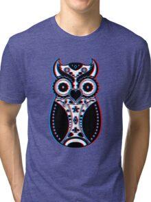 Stereoscopic Sugar Bird Tri-blend T-Shirt