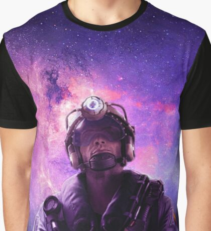 Galaxy Jackal Graphic T-Shirt
