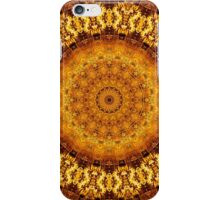 Floral Ring of Autumn Gold iPhone Case/Skin