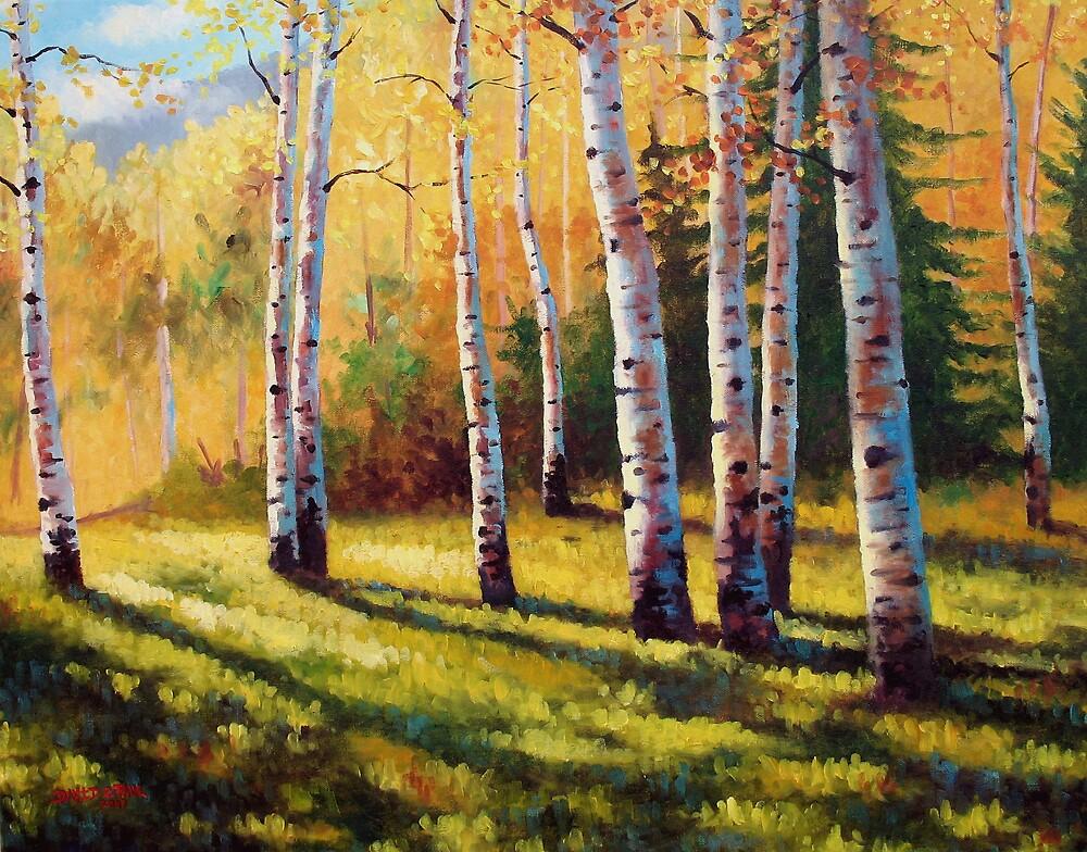 Autumn Shade by David Paul