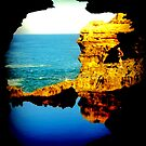 Looking out to the Great Southern Ocean by Chris Chalk
