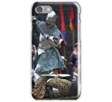 Knight in Battle - Royalty in Attendance iPhone Case/Skin