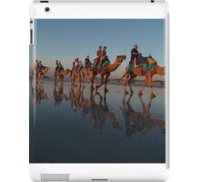 Camels in Blue iPad Case/Skin