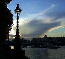 London Sunset by Joanna Clark