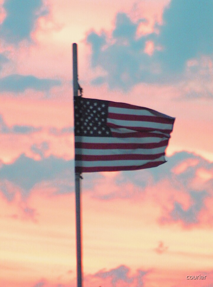 Old Glory by courier