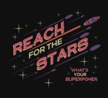 REACH FOR THE STARS by mojokumanovo