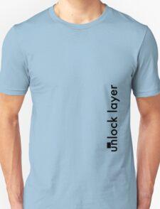 Unlock Layer - Side Unisex T-Shirt