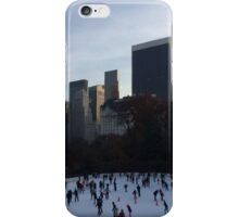 Wollman Rink, 432 Park Avenue Skyscraper, Central Park South, New York City iPhone Case/Skin