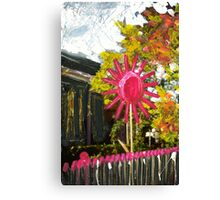 Spooky's Flower Canvas Print