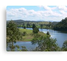 Manning River Taree N.S.W.Australia. Canvas Print